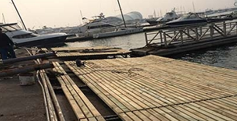 浮筒码头厂家介绍浮动平台的用途有哪些