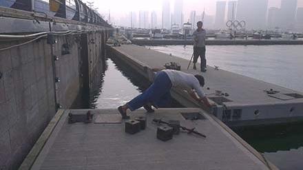 浮筒码头的浮筒参数产品有哪些特点