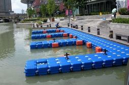 水上浮筒搭建的游艇码头的好处