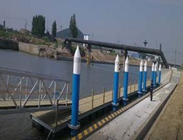 游艇码头设计厂家介绍塑料浮筒有哪些特点