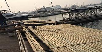游艇码头设计的平面布置相关简介